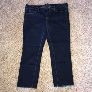 Mossimo Dark denim crop pants
